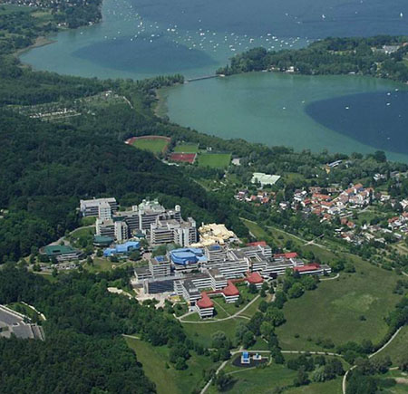 University of Konstanz, Germany aerial-view